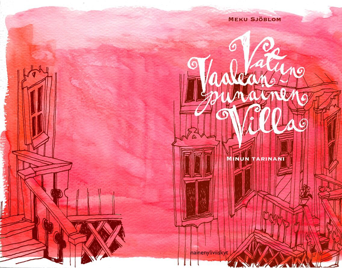 Vatun vaaleanpunainen villa kirja ja selviytymistarina